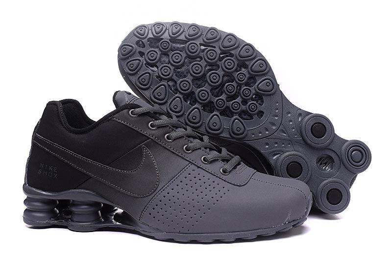35f7efcfc2364 Nike Shox Deliver Grey Black NZ Men's Running Shoes NIKE-ST000350 ...