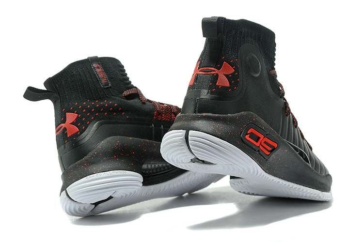 cd6e5d408a7e Under Armour Stephen Curry 4 Black Red Men s Basketball Shoes NIKE ...