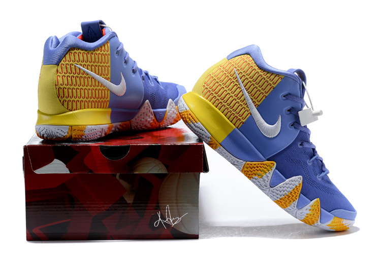 4bca8029df94 ... pitch blue metallic gold basketball shoes 943807 403 397d7 507b5  promo  code for nike kyrie 4 royal blue gold white mens basketball shoes d6d64  12f2e