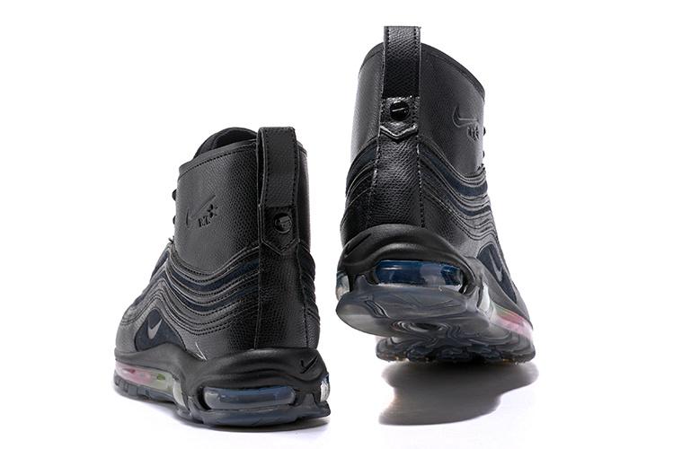7fd19ea9a Nike Air Max 97 Mid R. T. Triple Black Men's Running Shoes NIKE ...