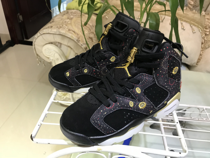 best service cc87c a0192 Nike Air Jordan 6 Retro CNY Chinese New Year Mens Athletic Basketball Shoes  AA2492-021