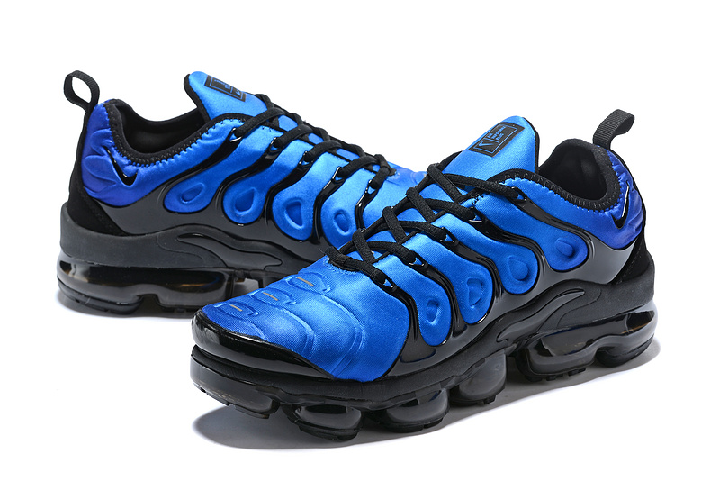 huge selection of b1543 1197d Nike Air VaporMax Plus Tn Obsidian Photo Blue Black 924453 401 Men's  Running Shoes 924453-401