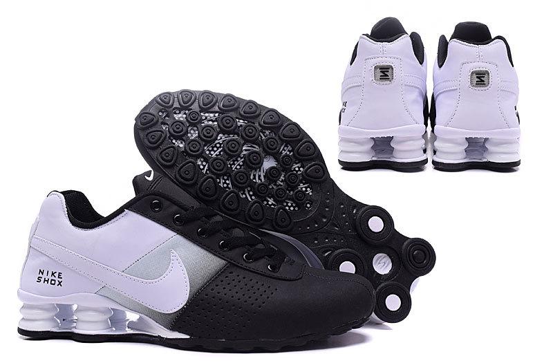 fa42d0e852 Nike Shox Delive Black White NZ Men s Running Shoes NIKE-ST000354 ...