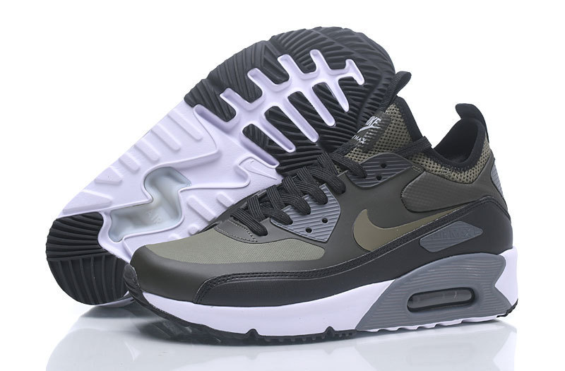 9e2c3ecef9 Nike Air Max 90 Mid NS GPX Black Grey Men's Running Shoes NIKE-ST001019 |  WithTheSale.com