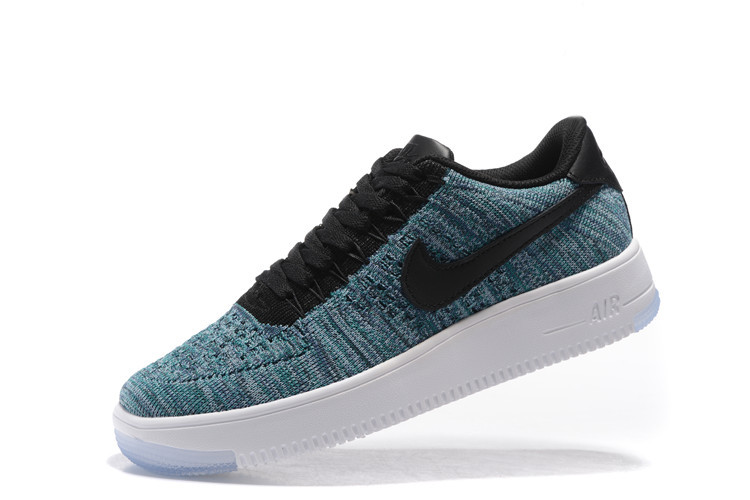 wholesale dealer 82282 7796f ... aliexpress nike air force 1 ultra flyknit low blue black white mens  casual shoes sneakers 0b163