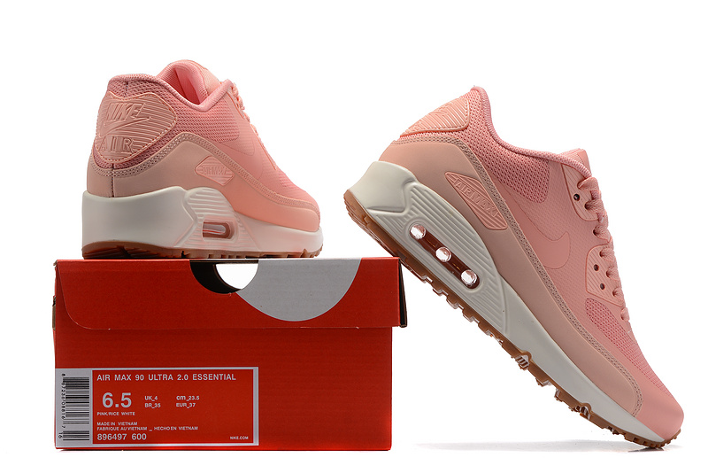 5de5d6a668d8 Nike Wmns Air Max 90 Premium Pink Glaze Women s Running Shoes ...