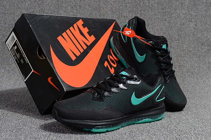 4876d60b6be2a Nike Air Zoom All Out Kpu Black Green Men s Running Shoes NIKE ...