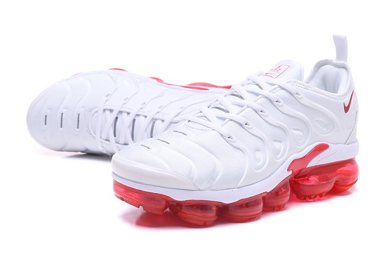 943036e32b797 Nike Air VaporMax Plus TN Red White Men s Running Shoes NIKE ...
