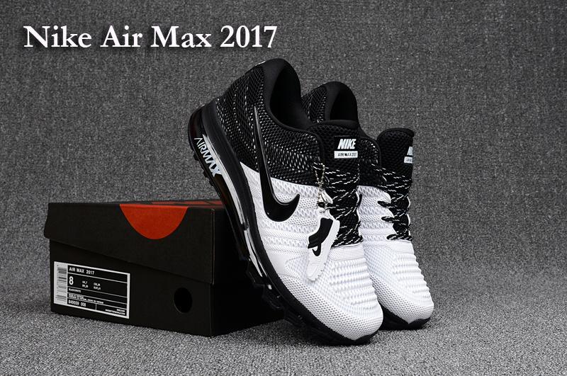 low priced ca1b4 f575a Nike Air Max 2017 KPU White Black Men's Running Shoes 849559-008