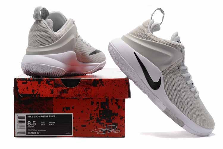 release date: ebad0 26457 Nike Zoom Witness EP Lebron James Wolf Grey White Black Men s Basketball  Shoes 852439-001   WithTheSale.com