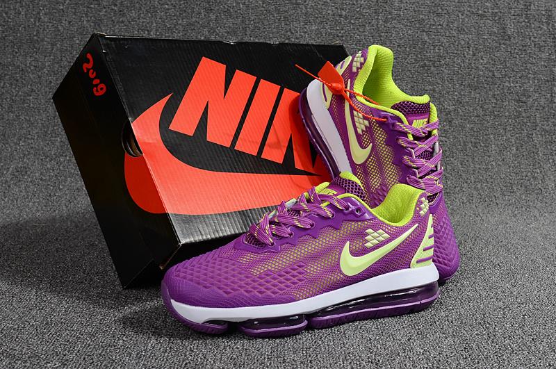 new style 089d5 b1808 Nike Air Max Flair KPU 2019 Purple Green Women's Running Shoes NIKE-ST001121