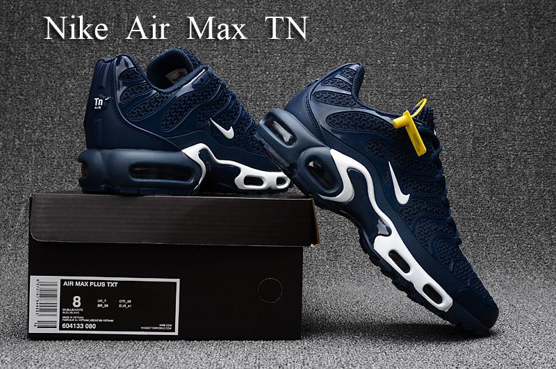 f925965ff01b2 Nike Air Max Plus TN KPU Dark Blue White 604133 080 Men's Running ...