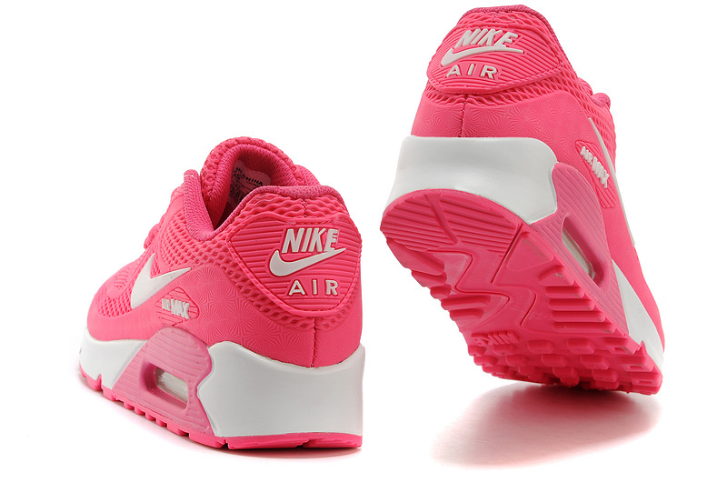 buy popular 57926 a2069 Nike Air Max 90 KPU Hyper Pink White Women's Running Shoes Sneakers  NIKE-ST000260