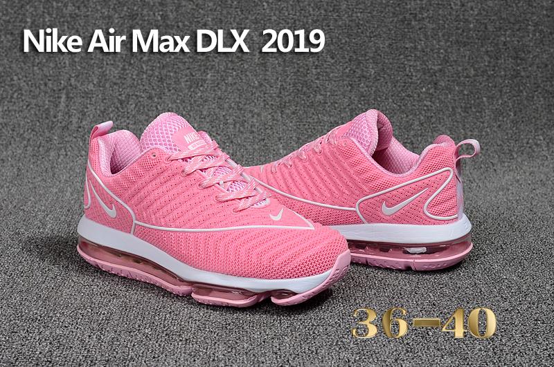 the latest 8dfe0 e545e ... italy nike air max dlx 2019 pink white womens running shoes 9e7d2 c1a3e