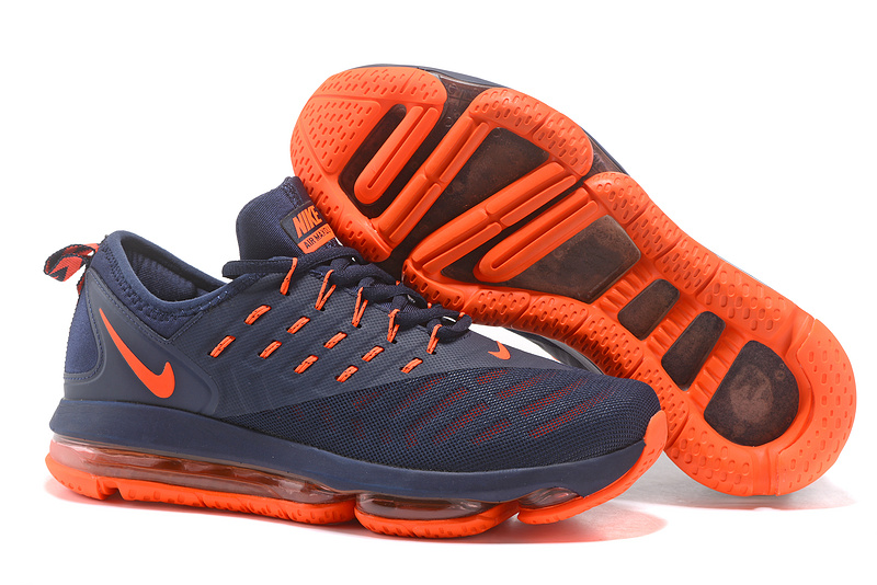 ... running shoes deep blue red outlet store nike air max 2018 blue orange  mens e3c19 7984f ... a2f6bc1b9