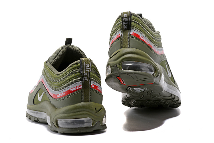 Nike Air Max 97 Ultra 17 Se Undefeated White Gorge Green Speed Red 924452 012 Men's Running Shoes Trainers 924452 012