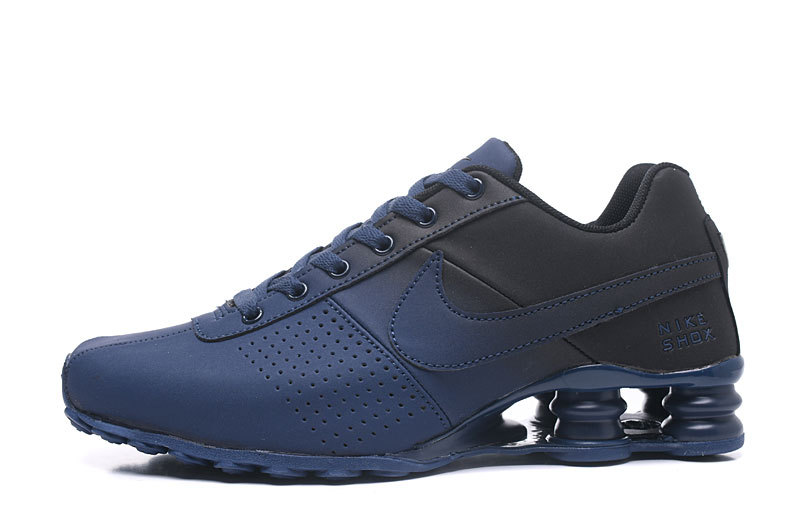 9ed170581c8 Nike Shox Deliver Navy Blue Black NZ Men s Running Shoes NIKE ...