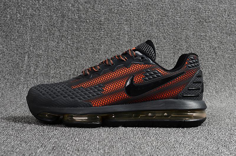 designer fashion f9630 8a556 Nike Air Max Flair KPU 2019 Charcoal Gray Orange Men s Running Shoes
