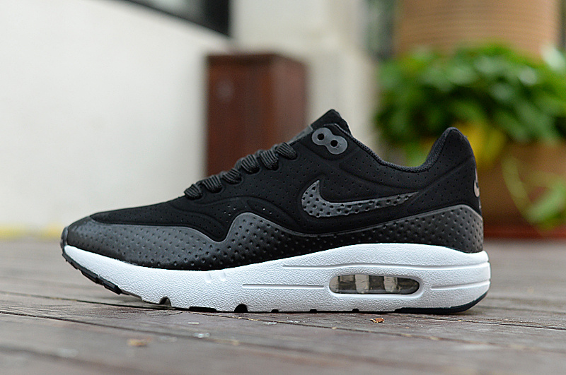 outlet store 212bb b0b2c Nike Air Max 1 Black White Women s Men s Running Shoes Sneakers NIKE-ST001103    WithTheSale.com