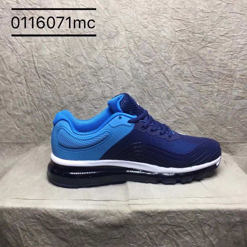 240b3b5e9fb Nike Air Max 2018 Kpu Navy Blue Royal Blue White Men s Running Shoes ...