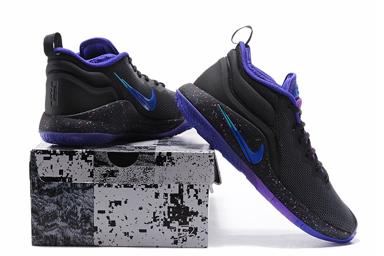 a05e1401096 Nike Lebron Witness II EP 2 Purple Black Men s Basketball Shoes NIKE ...