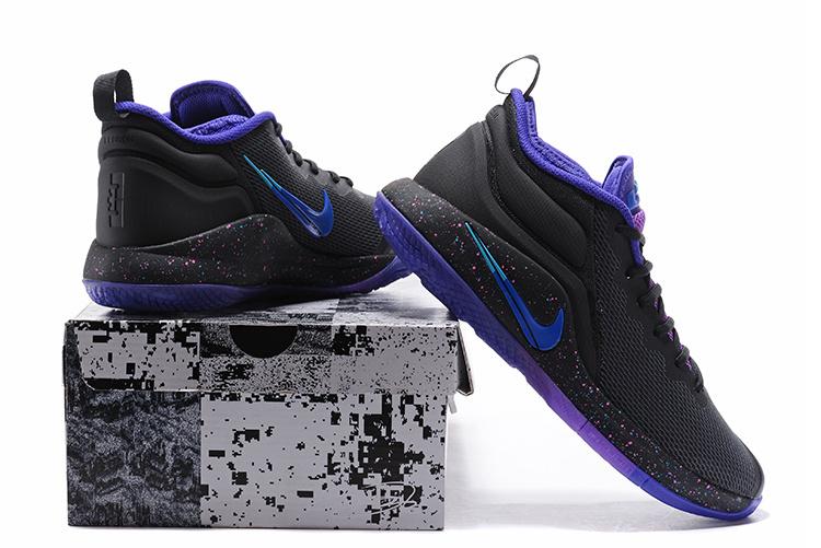 b52e2fdcc8d1 Nike Lebron Witness II EP 2 Purple Black Men s Basketball Shoes NIKE ...