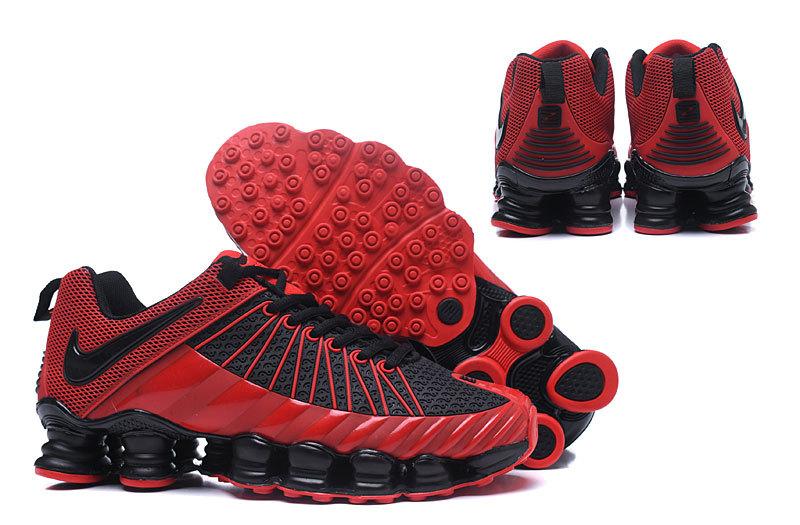 detailed look ba2a6 fd969 Nike Shox TLX KPU October Red Black Men s ...