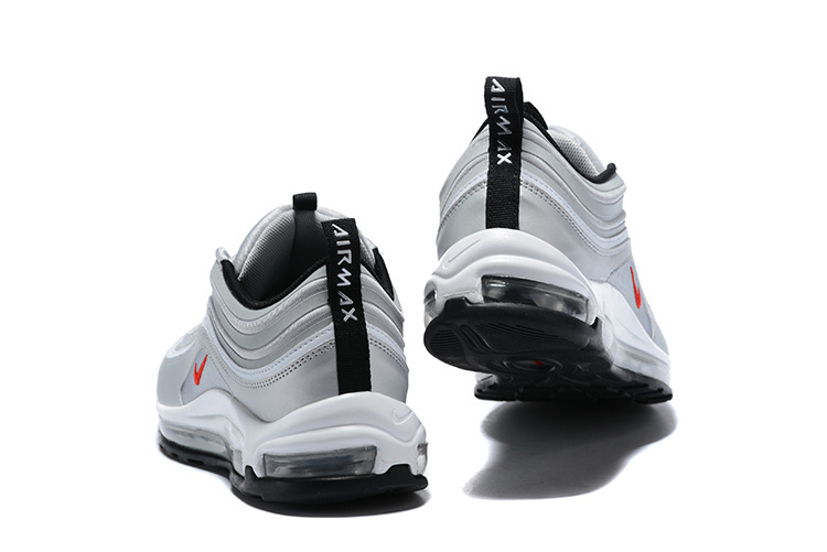 77743b35cdf Nike Air Max 97 Ultra 17 Se Silver Bullet Red Men s Running Shoes ...