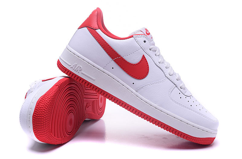 e1333914 Nike Air Force 1 Low QS OG Summit White University Red Men's Women's  Running Shoes Sneakers