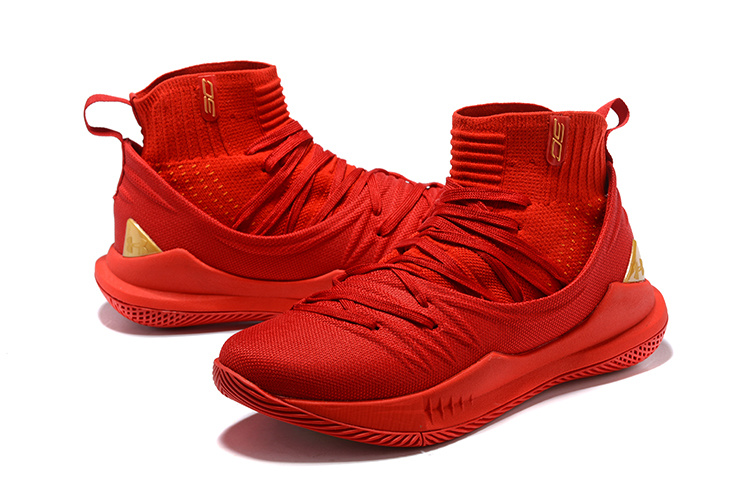 719d4ecdf897 Under Armour Curry 5 October Red Men s Basketball Shoes NIKE ...