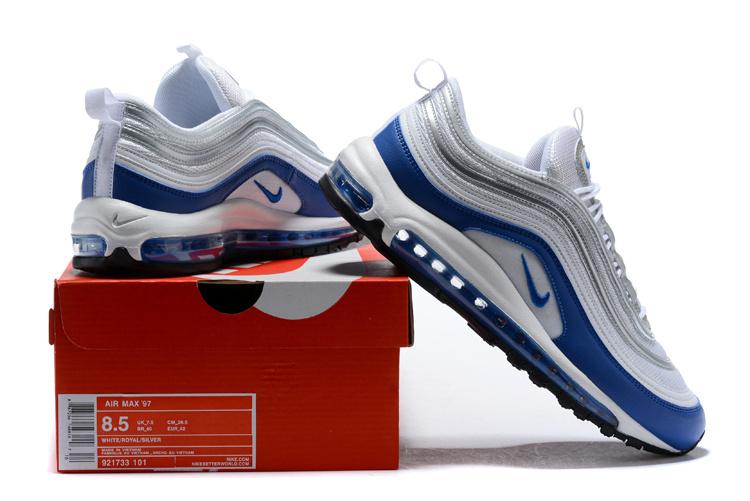Nike Air Max 97 Trainers 921733 015   White