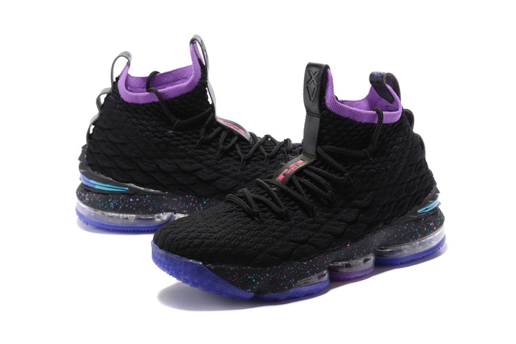 outlet store 08df3 4a2b4 Nike Lebron 15 XV Black Dream Hook Men's Basketball Shoes NIKE-ST001717