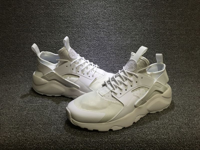 89b141ad8d32c Nike Air Huarache Run Ultra Triple White Men s Women s Casual Shoes ...