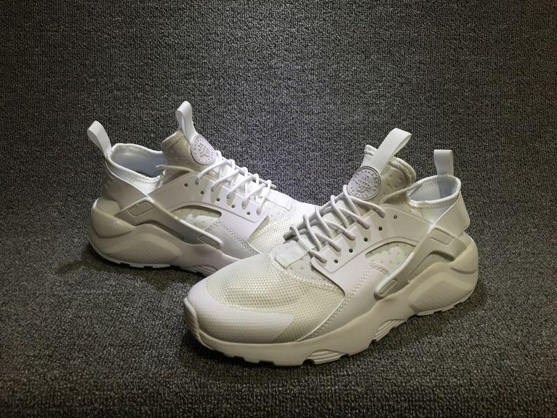 cdf3d7552717 Nike Air Huarache Run Ultra Triple White Men s Women s Casual Shoes ...