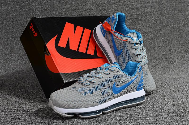 new arrival 04dc4 b2ec8 Nike Air Max Flair KPU 2019 Grey Hyper Blue Men's Running Shoes  NIKE-ST001117