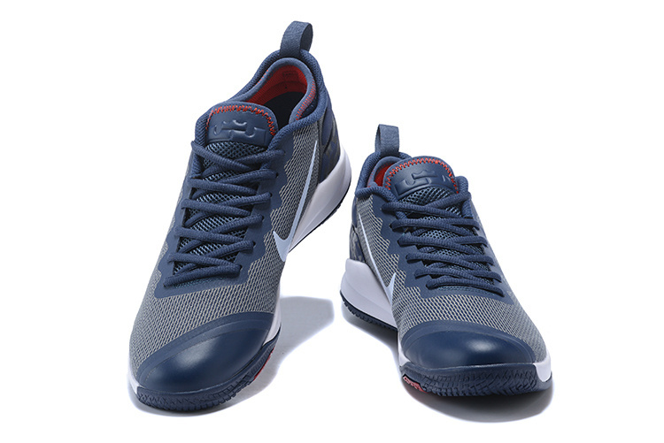 0e44660a172b Nike Lebron Witness II EP 2 Navy Blue White Red Men s Basketball Shoes