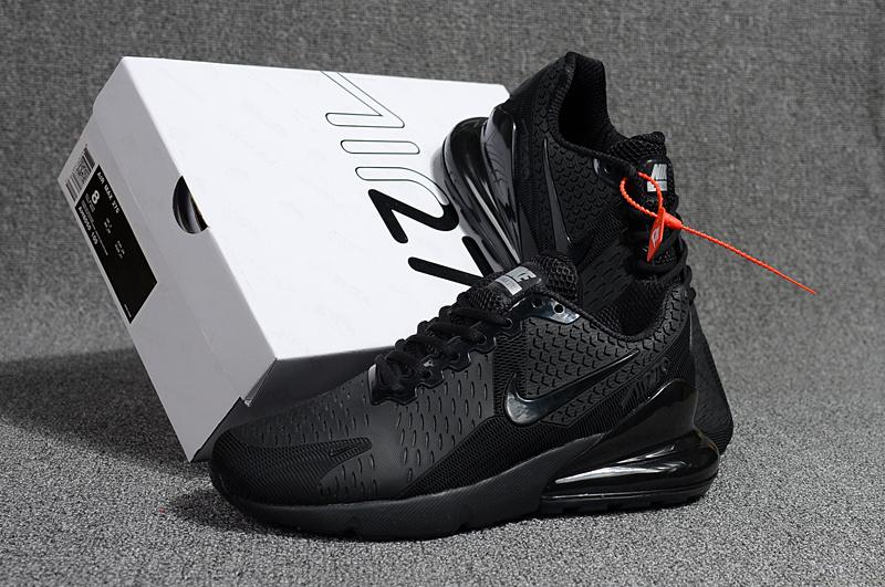 915097da168 Nike Air Max Flair 270 KPU Triple Black Men s Running Shoes NIKE ...