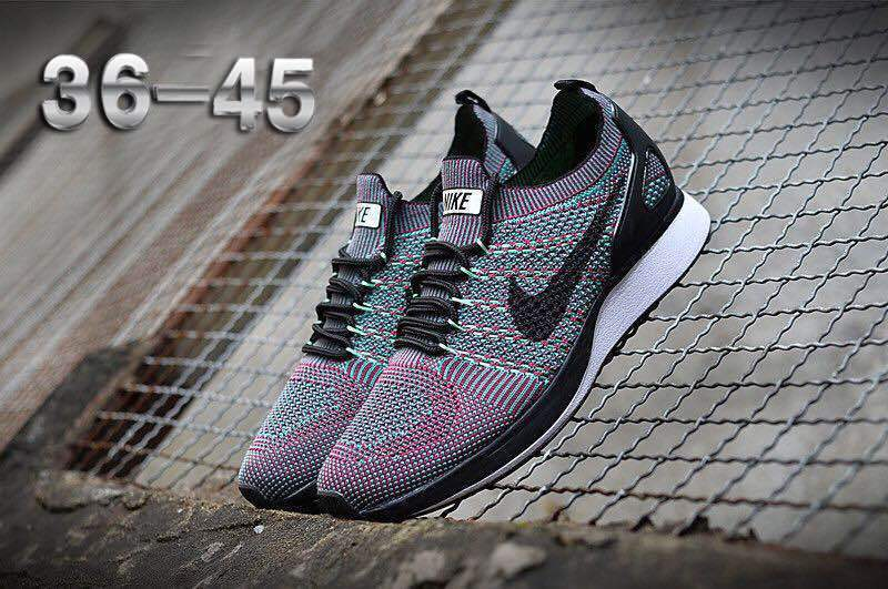 0b782c62bb1fe Nike Air Zoom Mariah Flyknit Racer Purple Multi-Color White Black ...