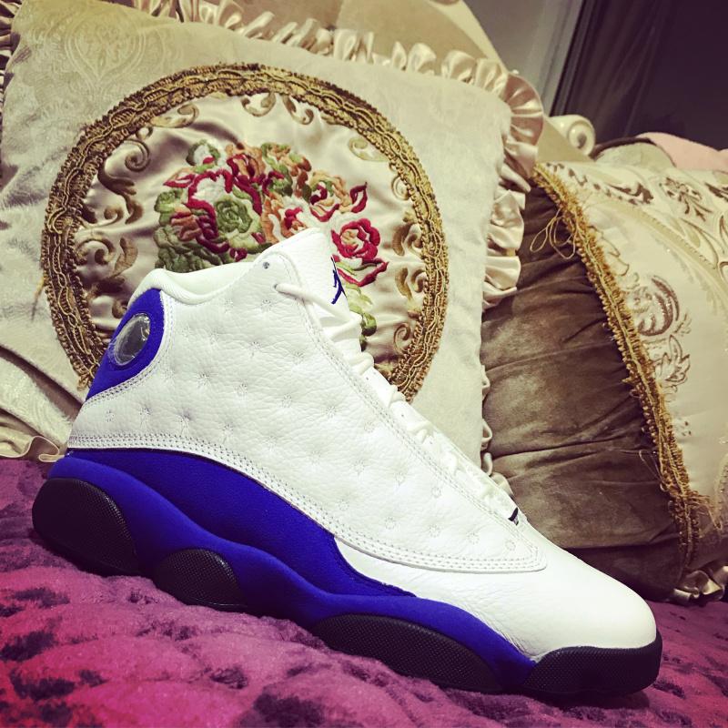 946528bab6a1 Nike Air Jordan Retro 13 Hyper Royal Mens Athletic Basketball Shoes ...