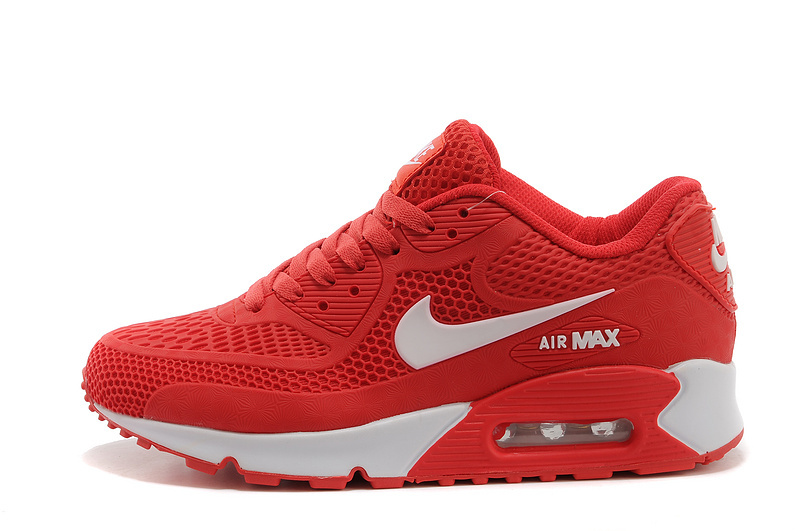 online store b9d87 74cf5 Nike Air Max 90 KPU University Red White Men's Women's Running Shoes  Sneakers NIKE-ST000258