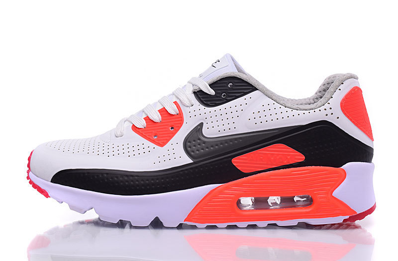 Nike Air Max 90 Ultra Moire Infrared Pure Platinum Cool Grey Neutral Grey Men's Running Shoes Sneakers NIKE ST000246