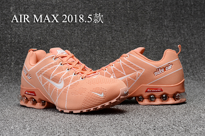 separation shoes a1bfe 7fccb Nike Air Max 2018. 5 Shox Orange White Women's Running Shoes NIKE-ST000405