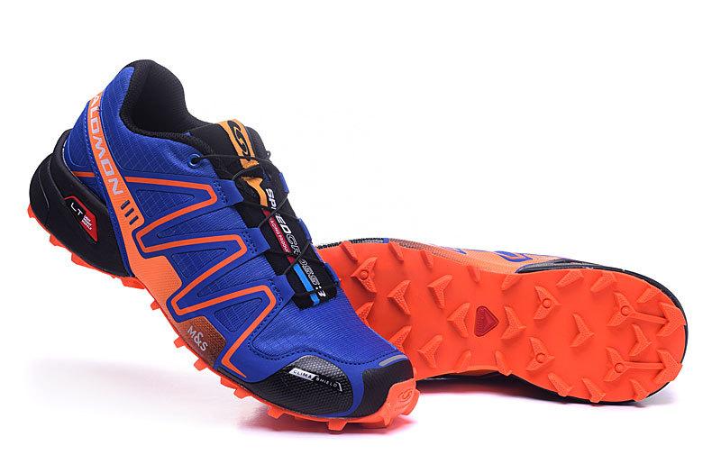 check-out 3ee12 b116c Salomon Speedcross 3 CS Deep Blue Orange Black Mens Trail Running Shoes  NIKE-ST002084