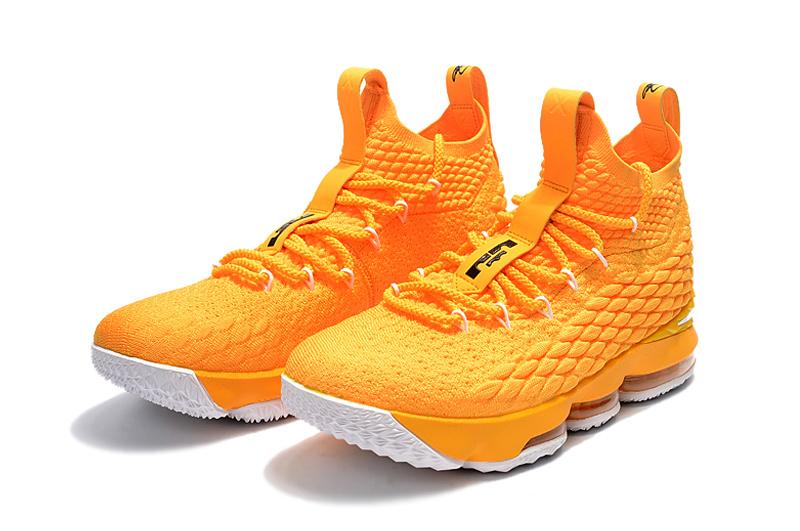 a1fe3359aa78 ... czech nike lebron 15 yellow white mens basketball shoes e9df6 352f4 ...