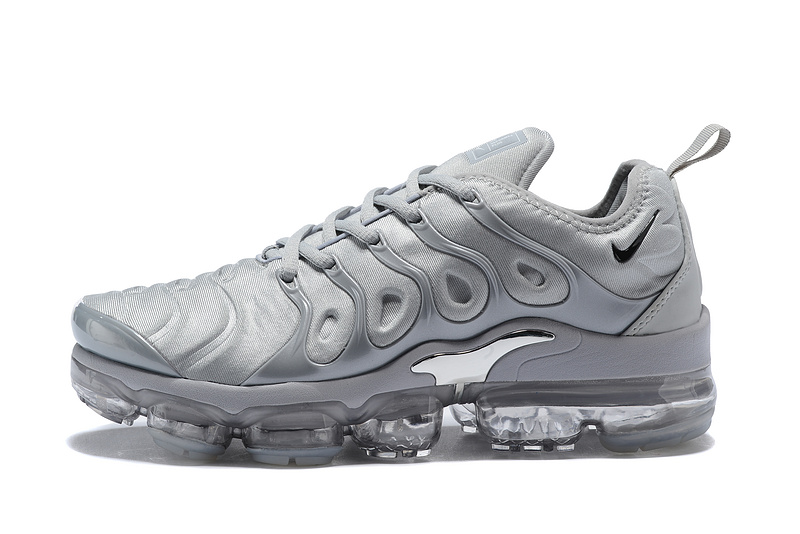 uk availability ee9a5 3f380 Nike Air Max Plus TN 2018 Triple Grey Men's Running Shoes NIKE-ST001955