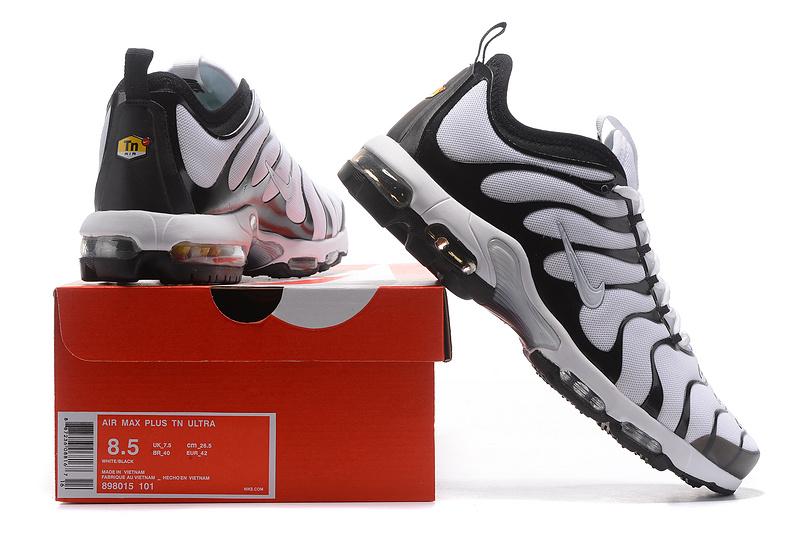 ecd7ecc48de8 Nike Air Max Plus TN Ultra Tuned Black White 898015 101 Men s ...