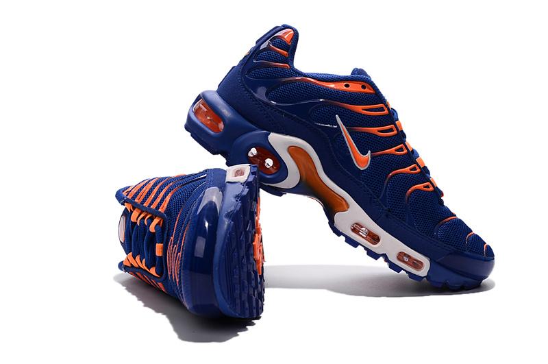 new product 03843 ac561 Nike Air Max Plus TN Indigo Orange Men's Running Shoes NIKE-ST000874