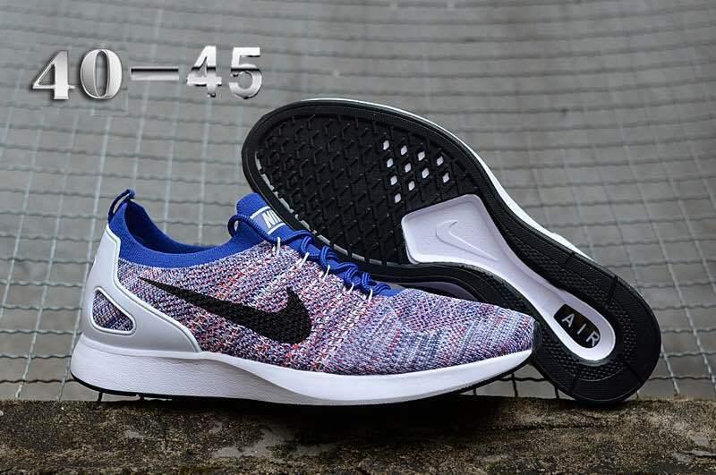 d21204a462cb Nike Air Zoom Mariah Flyknit Racer Multi-Color White Black Men s Running  Shoes