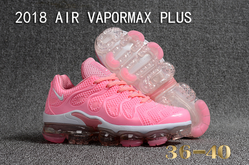 Nike Air Vapormax Plus KPU TN + 2018 Hyper Pink White Women s ... c92562c8b