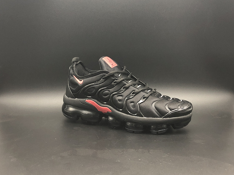 44dd325affd02 Nike Air Vapormax Plus TN Black Red Men s Running Shoes NIKE ...